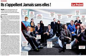 Their name is Jamais Sans Elles