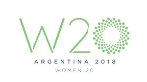 G20 #JamaisSansElles is representing France at the Women 20 Summit