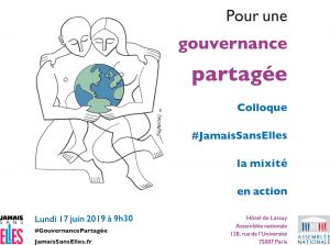 "#JamaisSansElles Symposium ""For Shared Governance"" at the National Assembly"