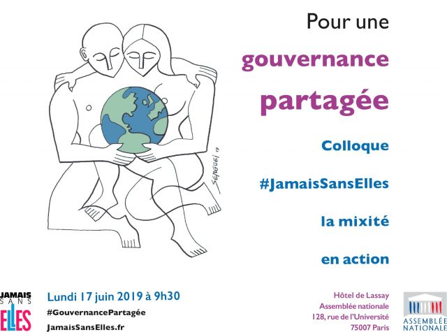 """#JamaisSansElles Symposium """"For Shared Governance"""" at the National Assembly"""