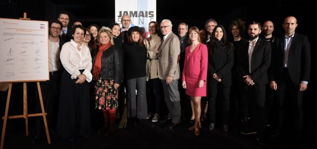 Les Collectionneurs join the #JamaisSansElles movement